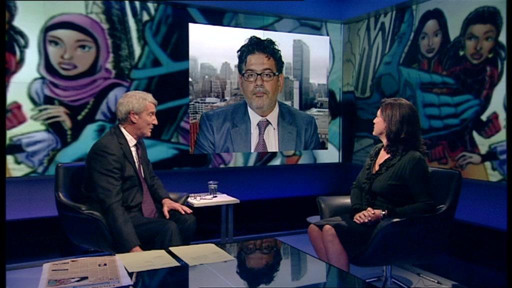 Jeremy Paxman, Nyif Al Mutawa, Caryn Mandabach