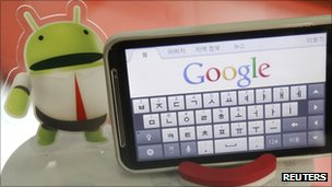 Android tablet, Reuters