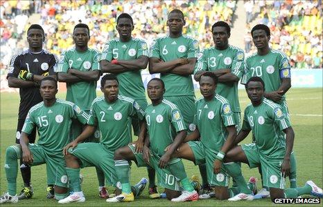 Nigeria's under-20 team