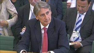 Transport Secretary Phillip Hammond
