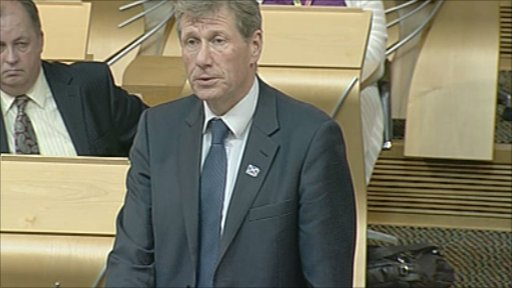 Justice Secretary Kenny MacAskill gives a statement on the reform of police and fire services.