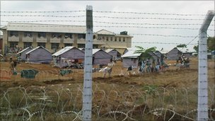 Camp in Vavuniya, Sri Lanka, Human Rights Watch file pic from 2009