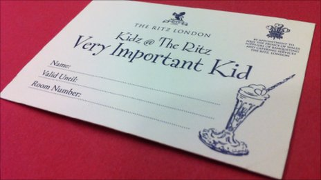 Photo of a Very Important Kid card