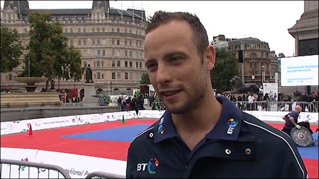 Bladerunner Oscar Pistorius expects awesome Paralympics