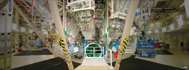 NIF target chamber (LLNL)