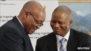 President Zuma and Judge Mogoeng (8 September)