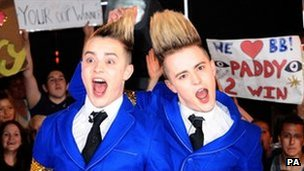 John and Edward Grimes - otherwise known as Jedward