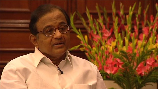 P Chidambaram, Indian Home Minister