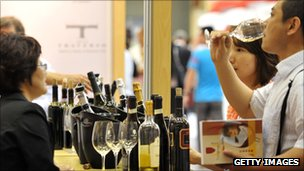 A consumer tasting win in China