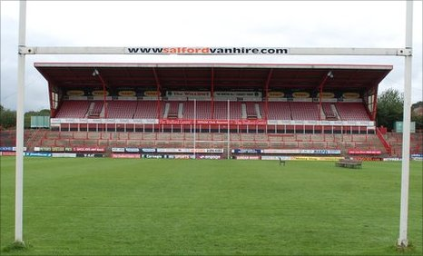 View of north stand at The Willows