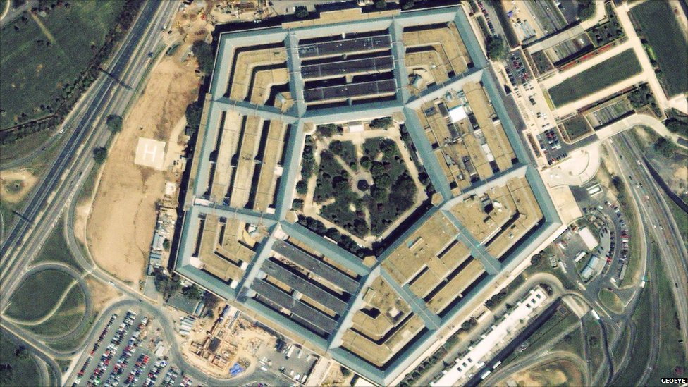 Pentagon - taken 6 April 2000