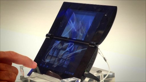 Sony P tablet with dual screen
