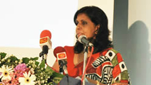 NCPA head Anoma Dissanayake