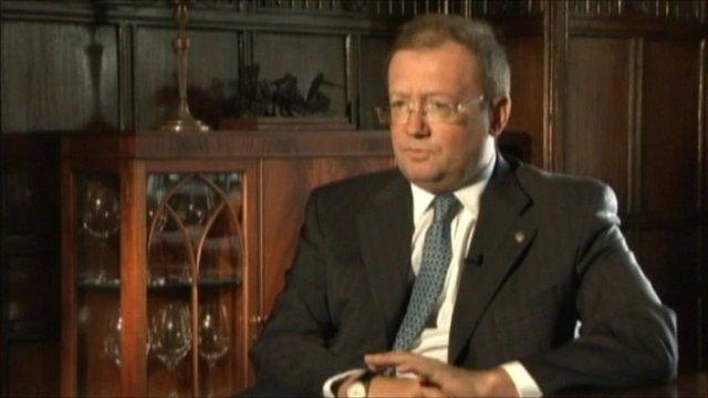 The Russian ambassador to the UK, Alexander Yakovenko