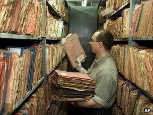 Stasi document archive