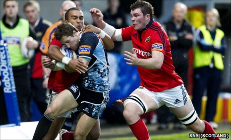 Glasgow Warriors v Munster
