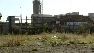 Land at Nelson Street in Belfast