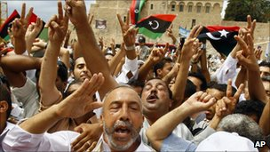 March in Tripoli, 9 Sept