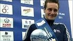 Alistair Brownlee and his trophy