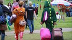Arriving at Bestival