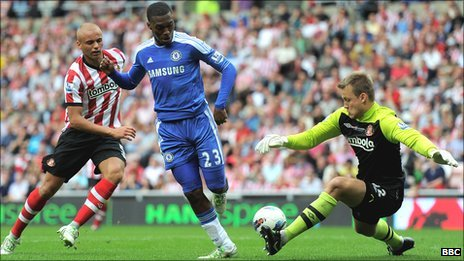 Daniel Sturridge backheels Chelsea's second goal