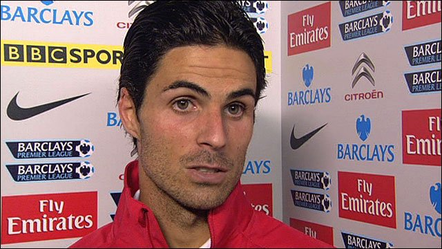 Arsenal&#039;s Mikel Arteta