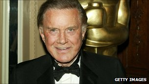 Cliff Robertson at an Oscar night in 2004