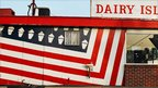 Ice cream shop front. Photo: Robert Carley