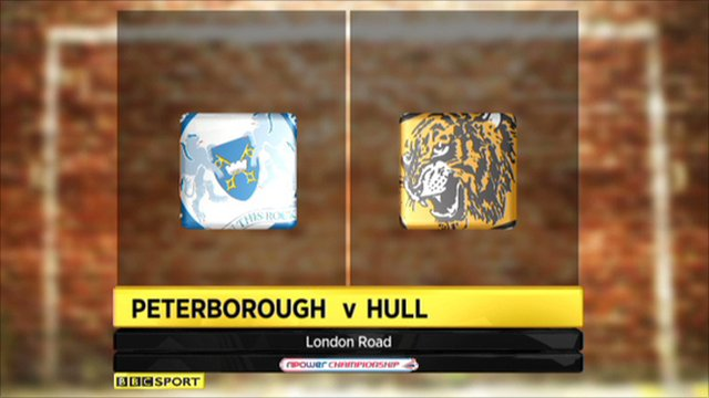 Peterborough 0-1 Hull