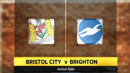 Highlights - Bristol City 0-1 Brighton