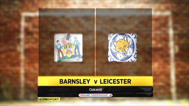 Barnsley 1-1 Leicester