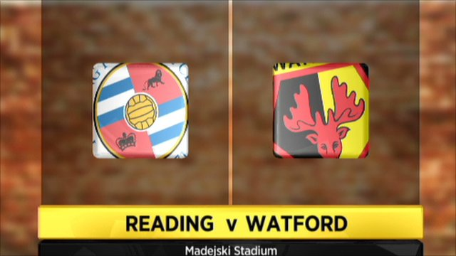 Highlights - Reading 0-2 Watford