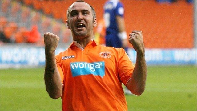 Blackpool's Gary Taylor-Fletcher