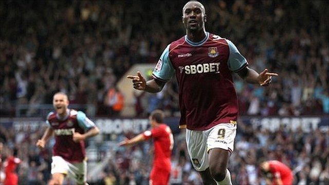 West Ham's Carlton Cole