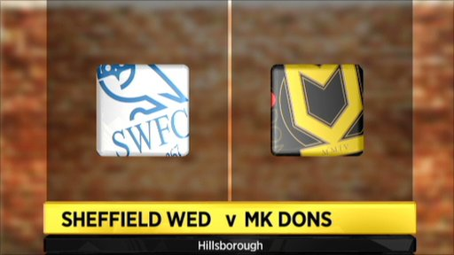 Sheffield Wed 3-1 MK Dons