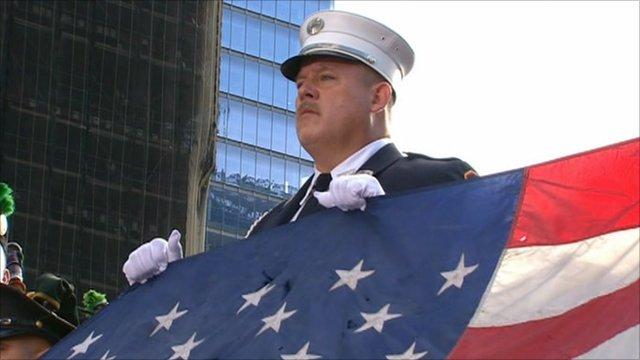 9/11 remembrance service, New York