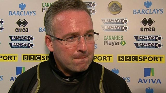Norwich boss Paul Lambert laments as Norwich pay penalty