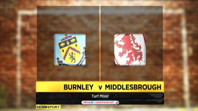 Burnley 0-2 Middlesbrough