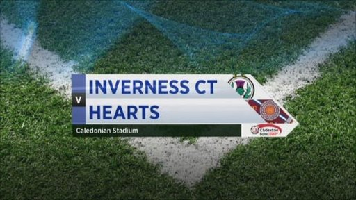 Inverness Caledonian Thistle v Hearts