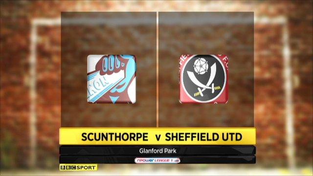Scunthorpe 1-1 Sheffield Utd