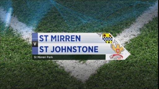 St Mirren v St Johnstone