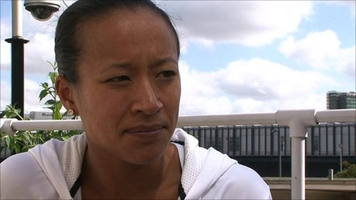 Anne Keothavong - British number two