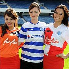 QPR's new sponsored shirts
