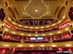 Theatre Royal restoration. Picture: Rory Gibson
