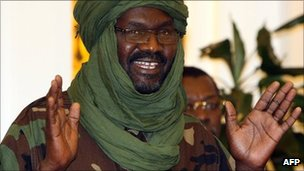 Darfur rebel leader Khalil Ibrahim flees Libya