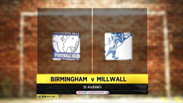 Birmingham 3-0 Millwall