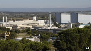 Macoule nuclear site, France (12 Sept 2011)