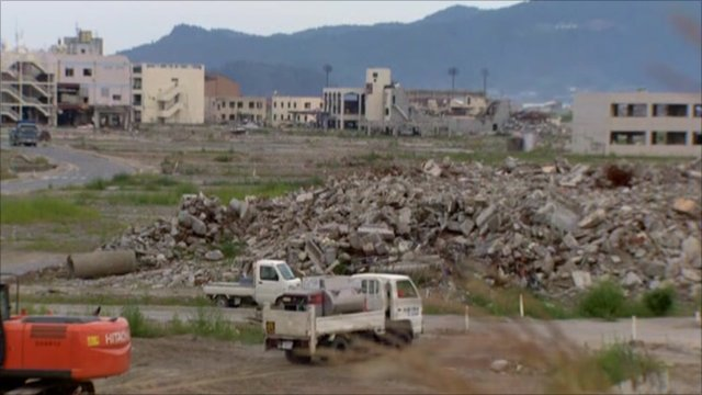 Rebuilding continues in Rikuzentakata