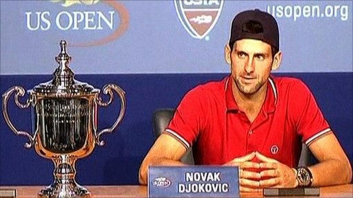 Novak Djokovic - US Open Champion