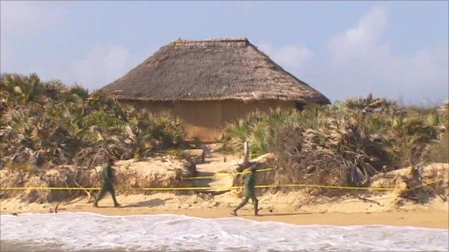 Kenyan resort